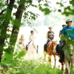 Camp Ondessonk Horse Trail Ride