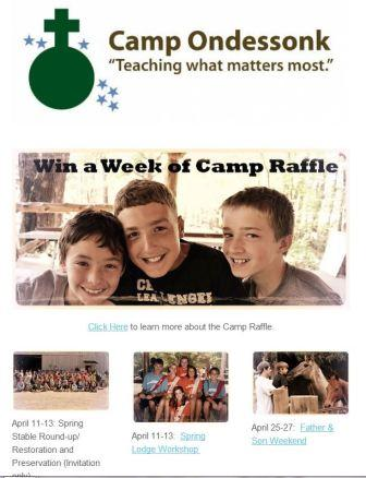 Camp Ondessonk ENewsletter