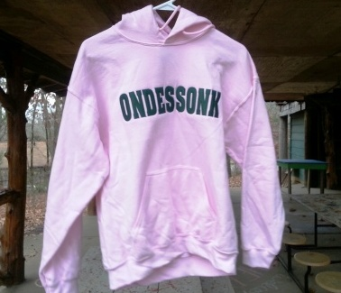 Camp Ondessonk Pink Sweatshirt