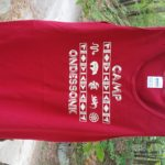 Camp Ondessonk Red Tank Top