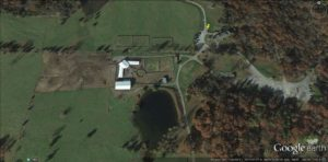 Camp Ondessonk Stables Google Earth
