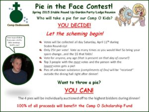 Camp PIE contest Flyer Spring 2015