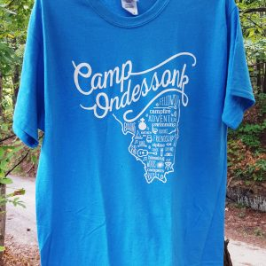 Ondessonk Blue IL State T Shirt