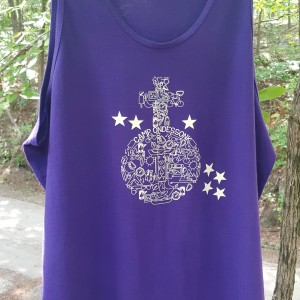 Camp Ondessonk Purple Tank Top