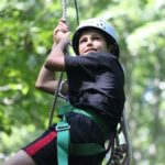 Shawnee Zip Line Adventure teen summer camp, scholarship