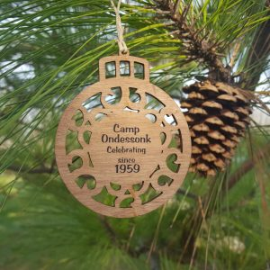 Wooden Christmas Ornament Ondessonk