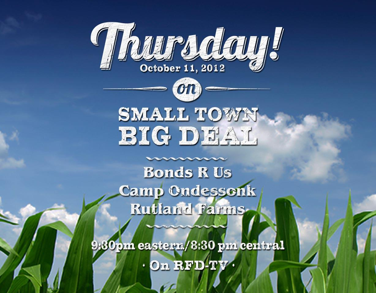 Camp Ondessonk Featured on Small Town Big Deal - RFD-TV
