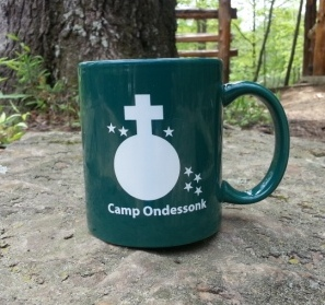 Camp Ondessonk coffee mug