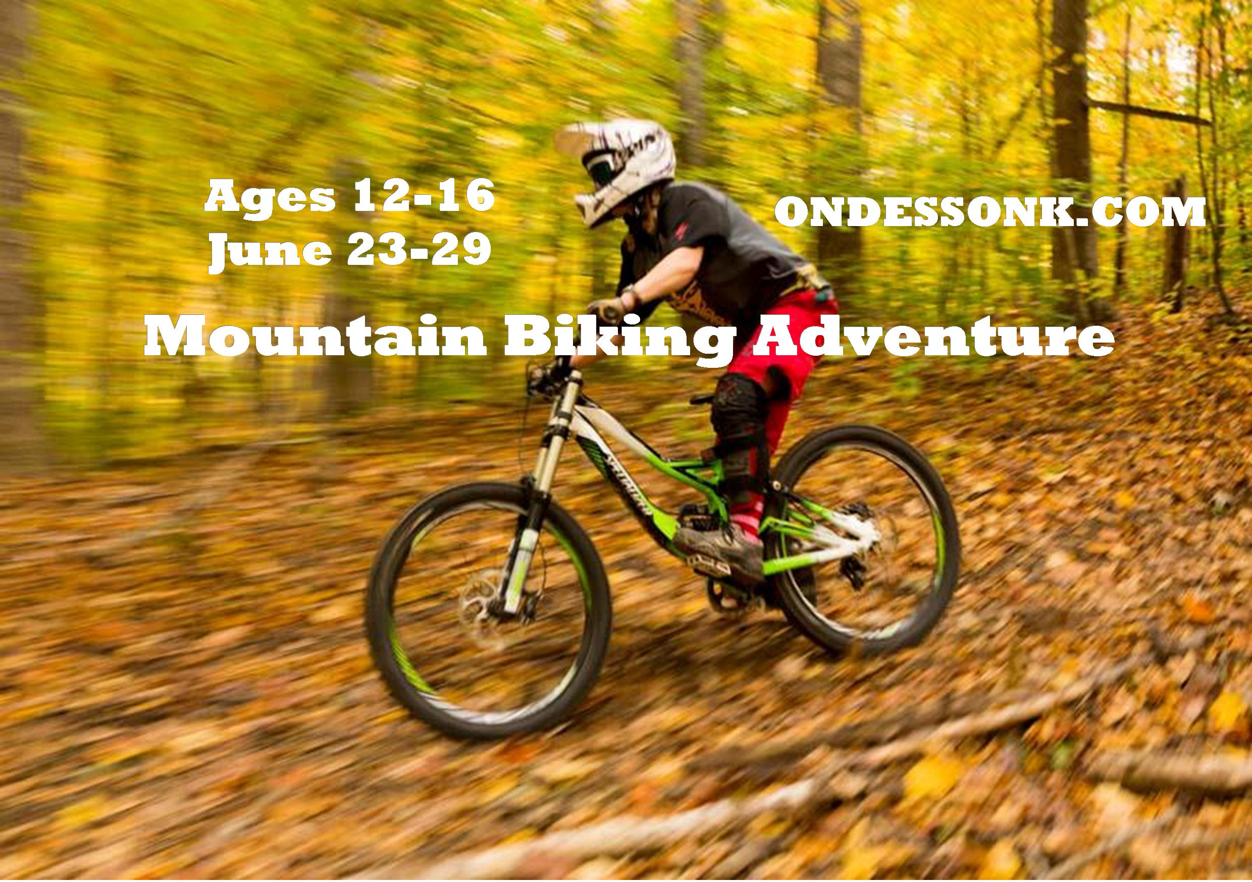 Mountain Biking Adventure Camp Ondessonk