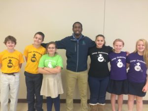 xavier Ondessonk visits Catholic Schools